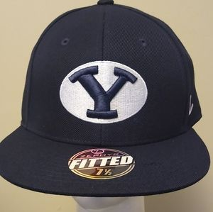 NCAA Men's BYU Fitted Hat